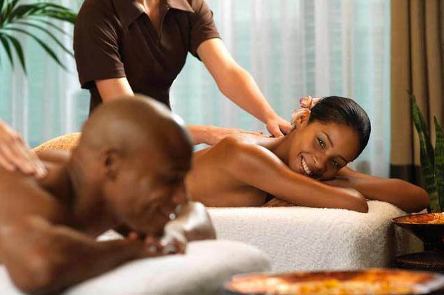 Image result for couple on spa date